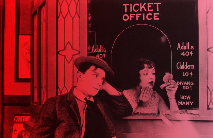 Sherlock Jr. reż. Buster Keaton 1924 - materiały prasowe organizatora