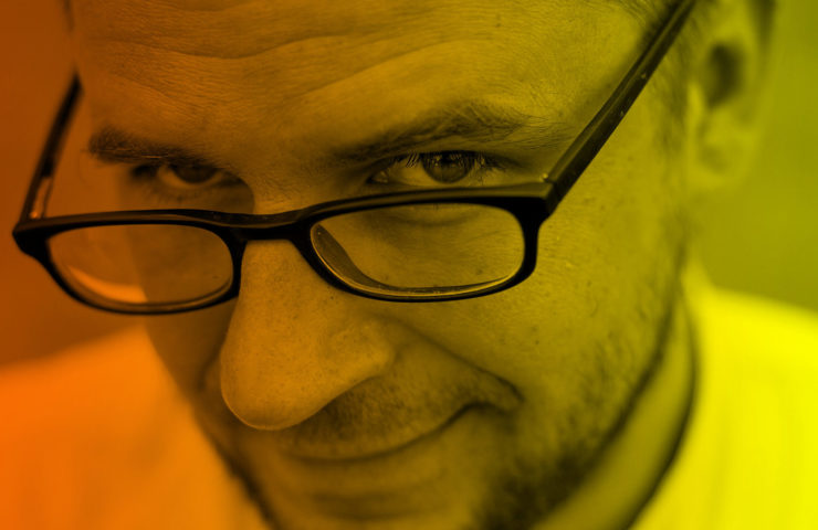 Krakow, Szymon Kloska z Instytutu Ksiazki.Fot. Tomasz Wiech